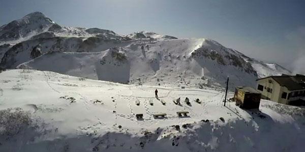 【ブログ】冬の立山にドローンを持って行った!