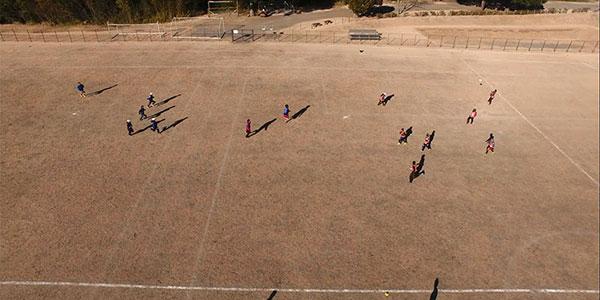 スポーツ空撮サービス「Bird's viewサービス」を開始